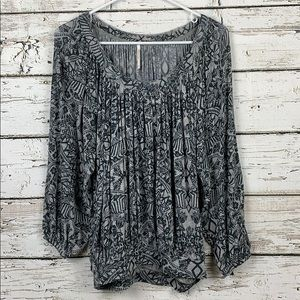 {FREE PEOPLE} Blouse Size Small